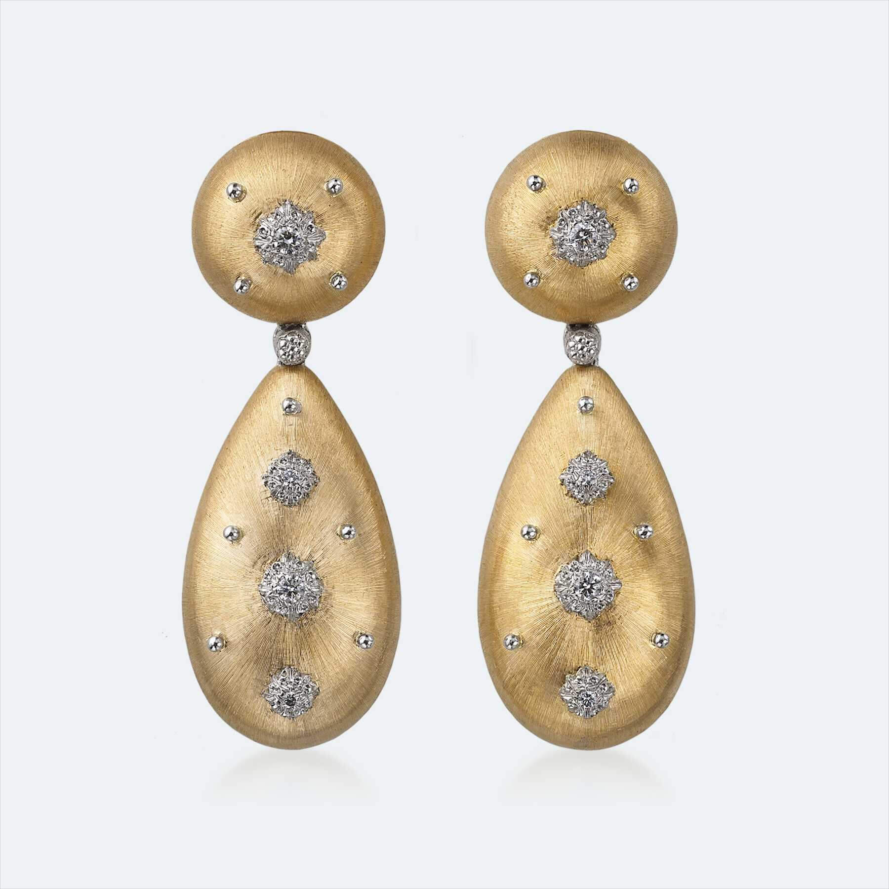 buccellati macri pendant earrings 1