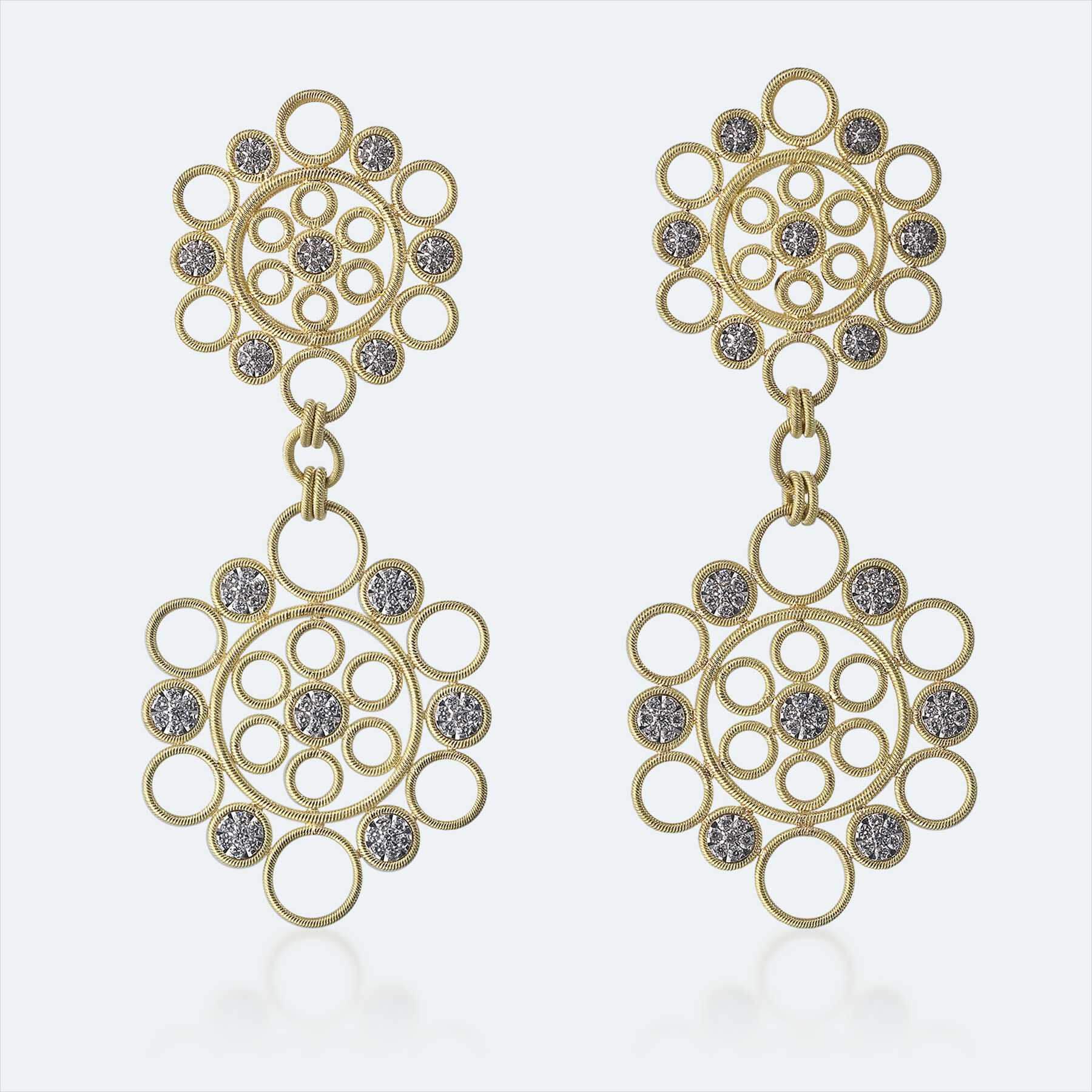 maria pendant diamond earrings 1