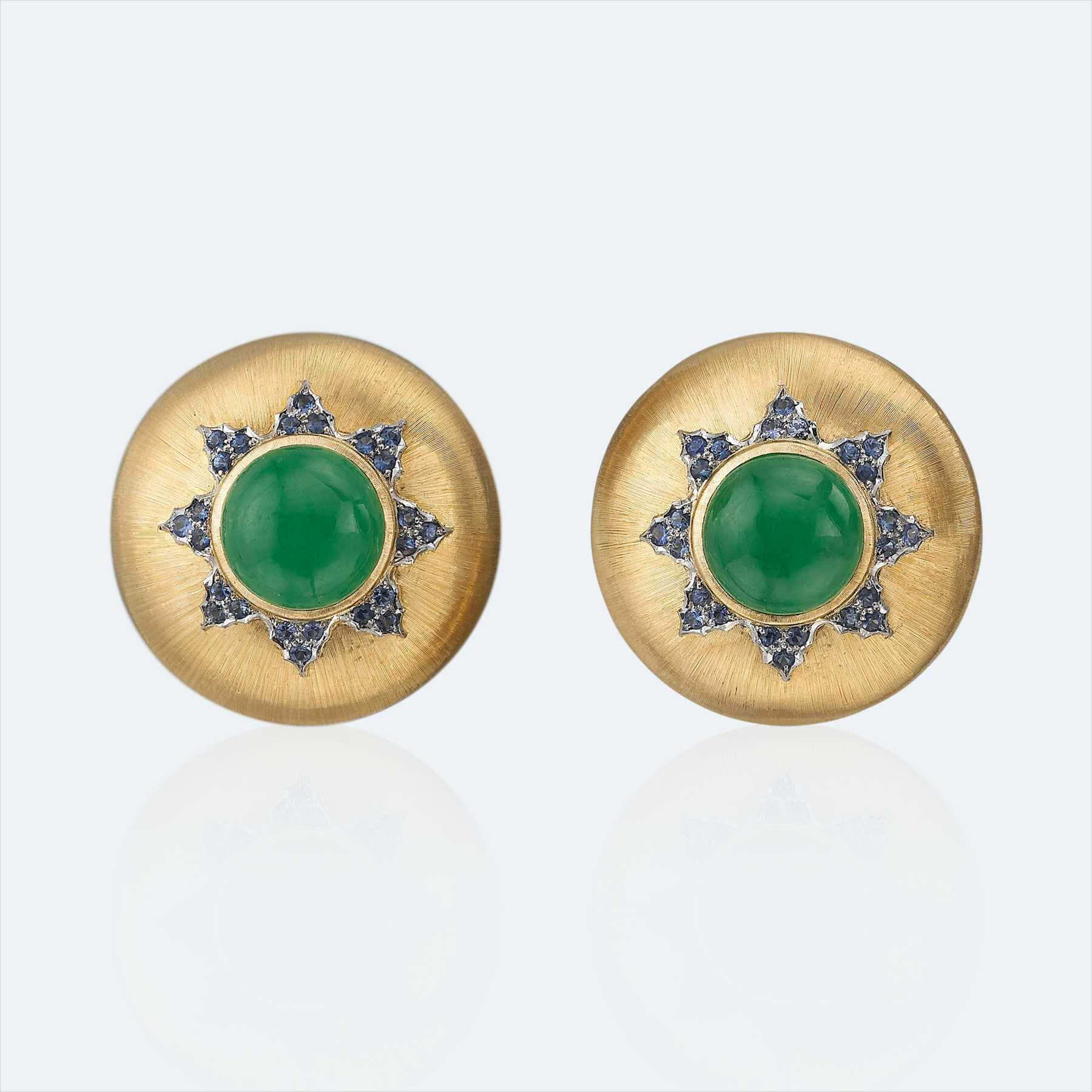 button diamond earrings 1