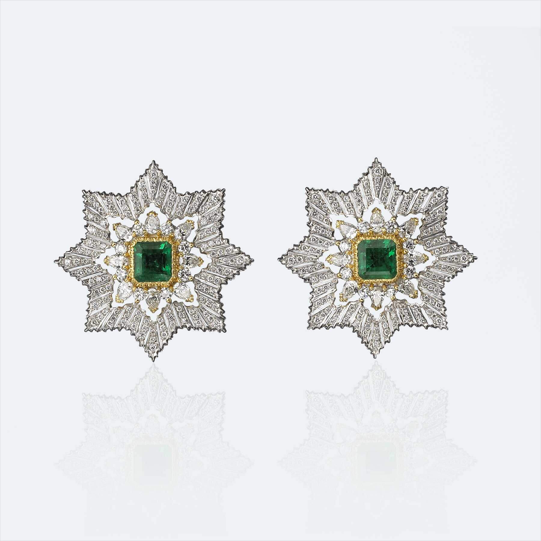 stella alpina button earrings 1