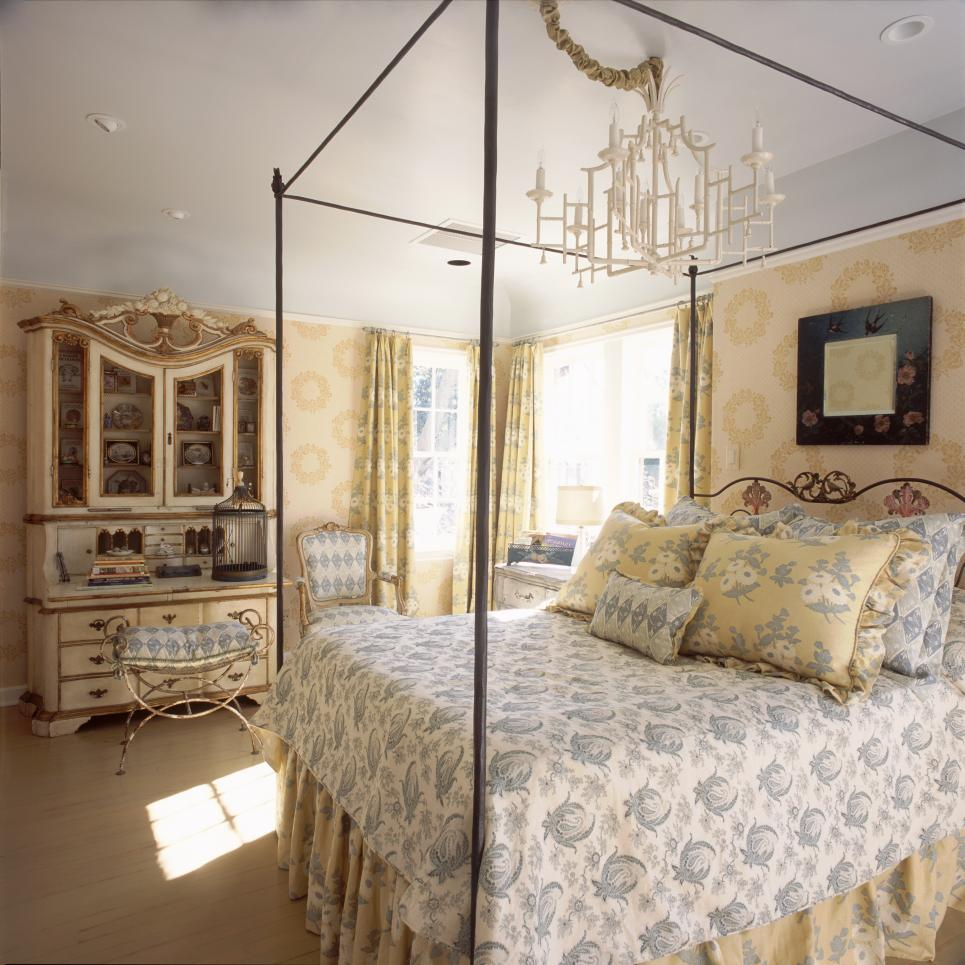 Traditional French Country Master Bedroom