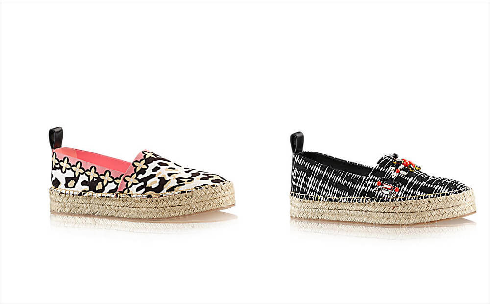 louis vuitton authentic rope sole shoes