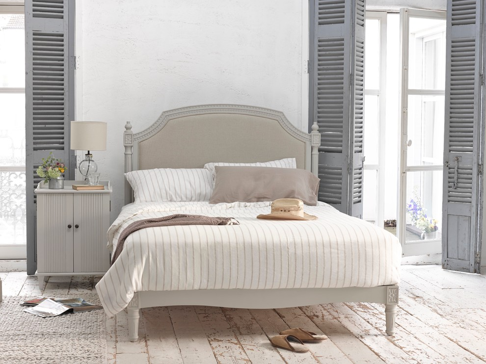 Shabby chic style bedroom London
