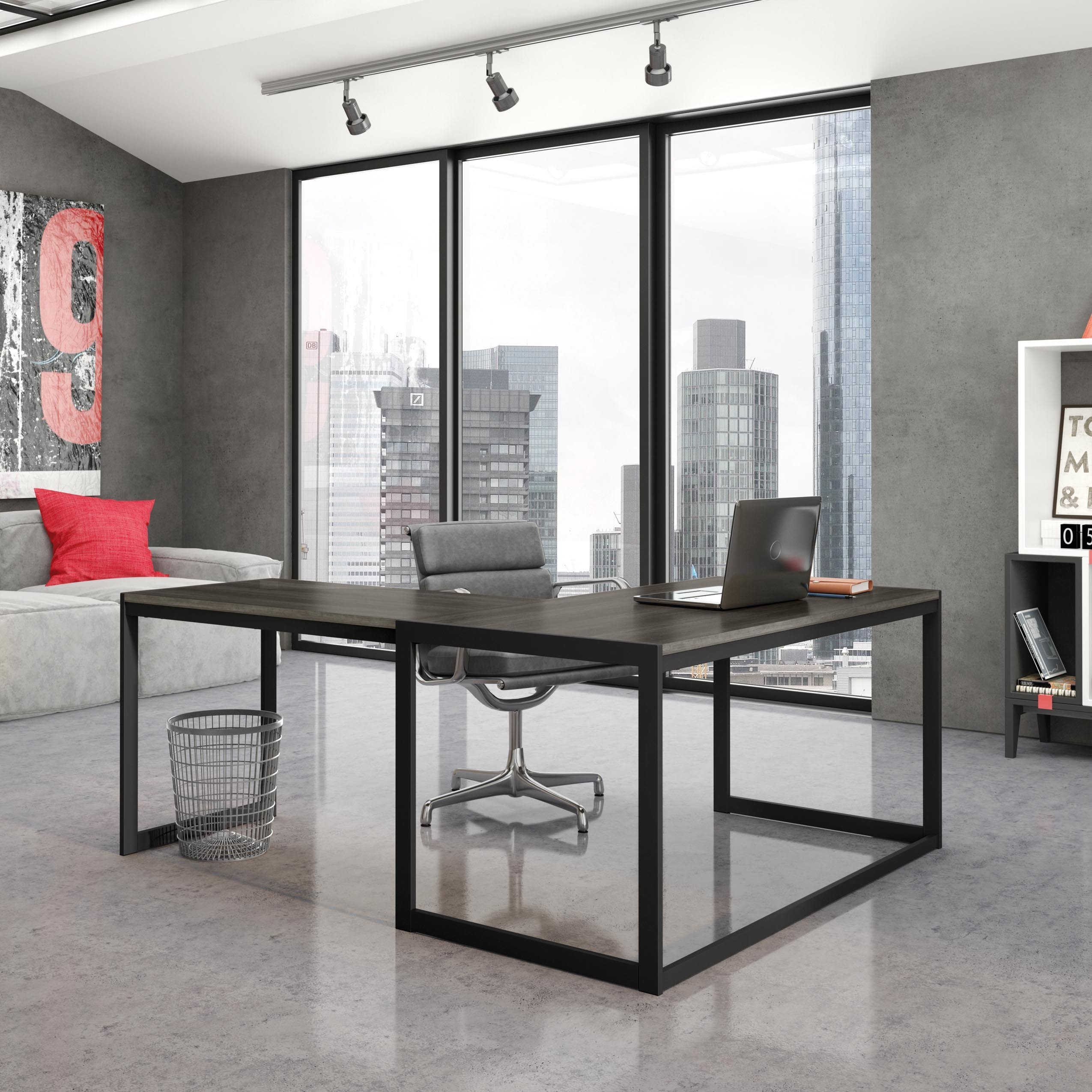20 Contemporary Office Desk Designs Decorating Ideas