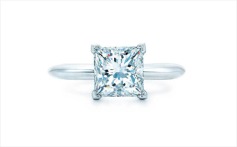 Princess Cut Diamond Rings Tiffany