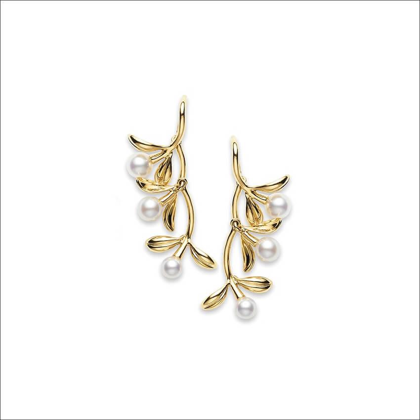 MIKIMOTO - Olive Earrings (1)