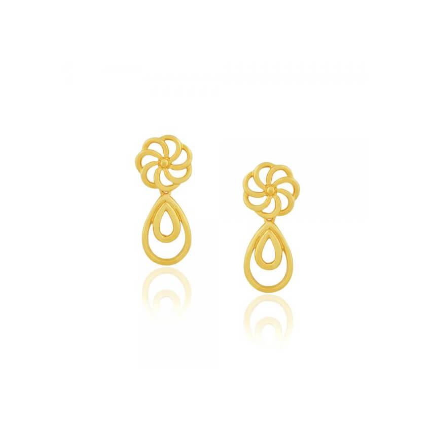 24+ Gold Earrings Designs, Ideas | Design Trends - Premium PSD ...