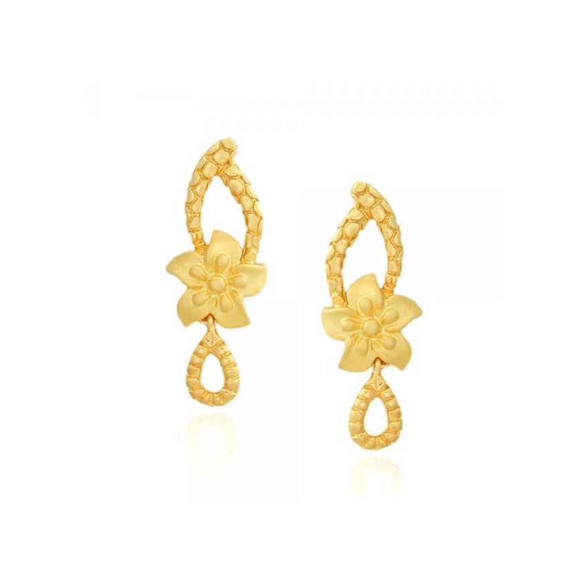 Maya Gold 22KT Earrings (1)