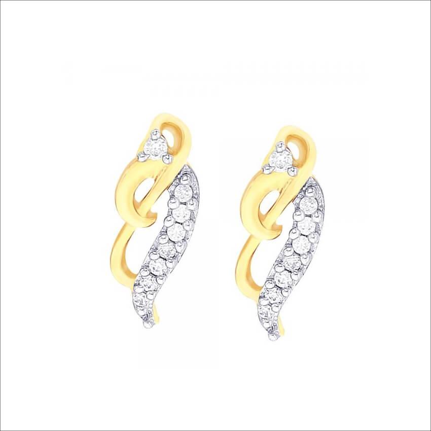 RIVAAZ Gold Earrings (1)