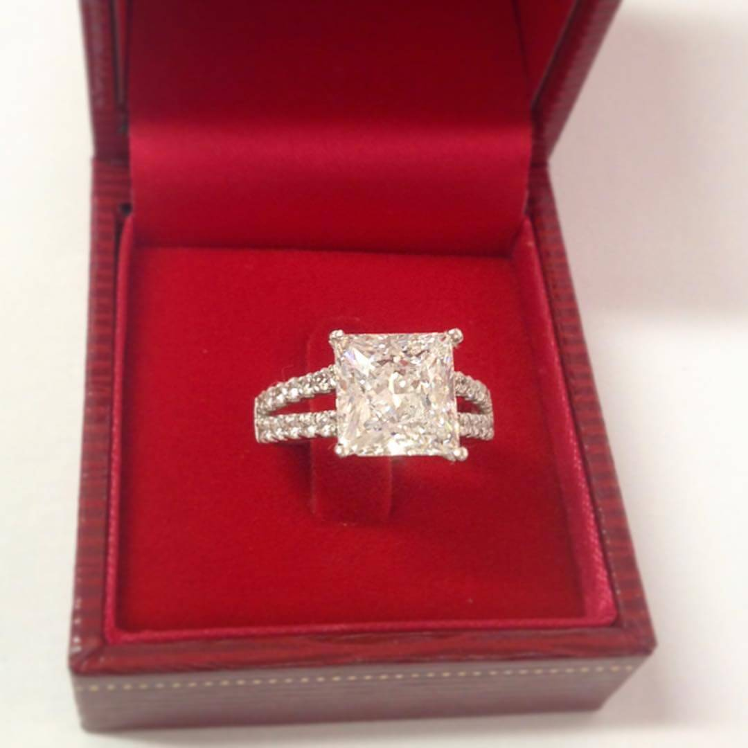 Gorgeous Vintage Princess Cut Ring
