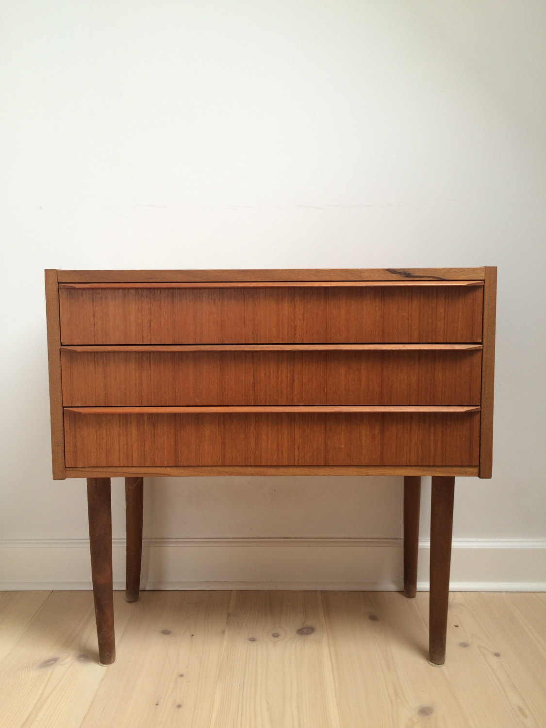 Superb Denmark Teak Chest With Drawers
