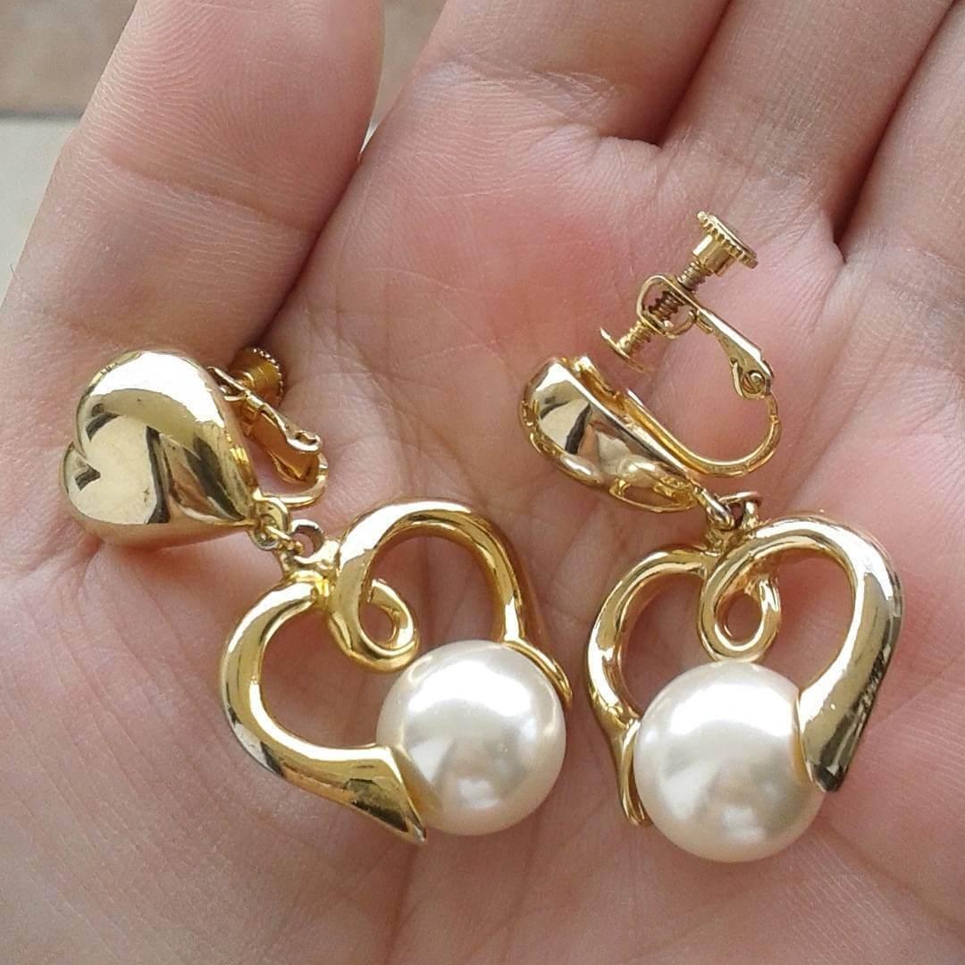 Pearl Gold Earrings (1)