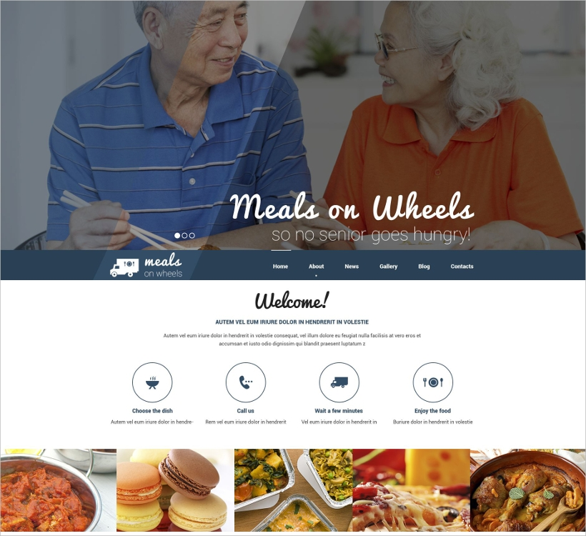 Fast Food Restaurant Responsive WP Theme