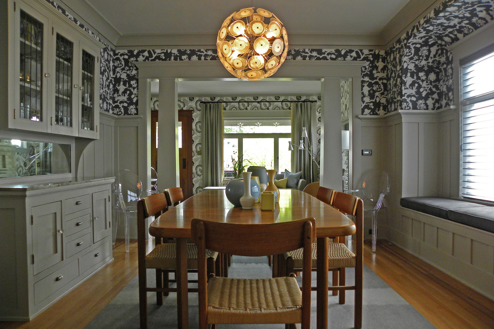 Craftsman dining room Looking Elegant