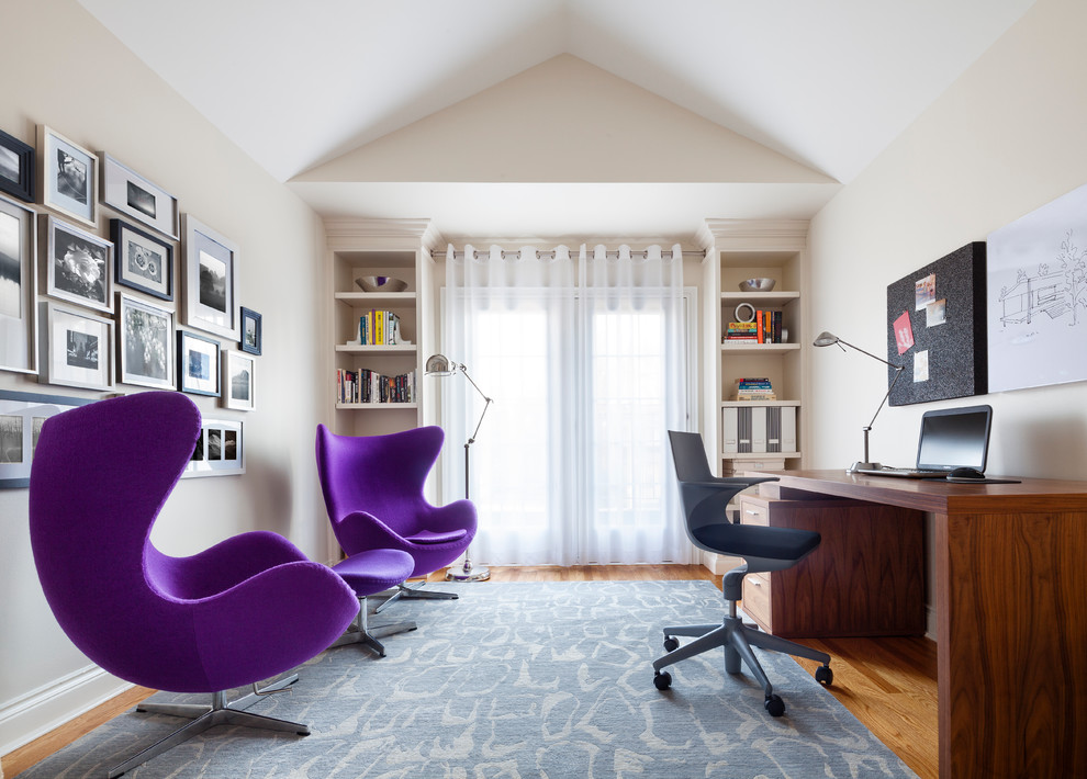Mid-Sized Eclectic Office