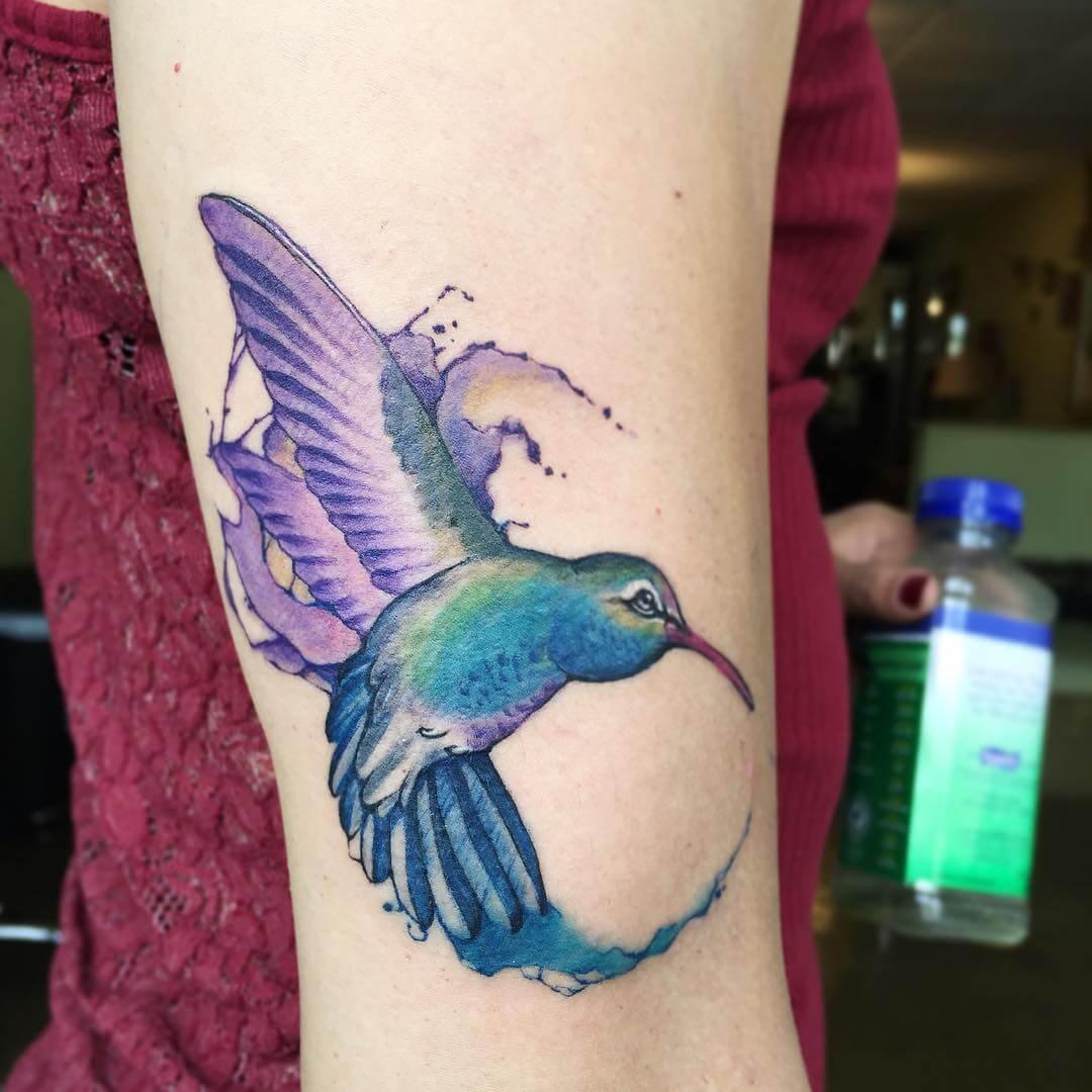 Stencil Hummingbird Designs (1)