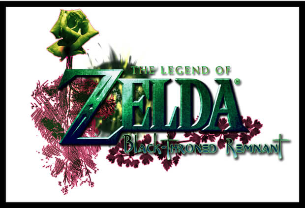 beautiful design of zelda logo