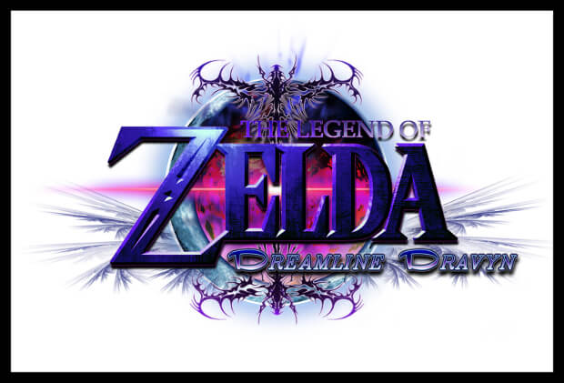 dreamline zelda logo design