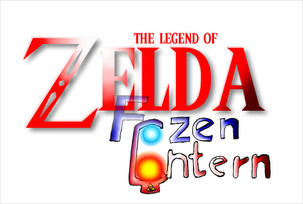 red zelda logo design