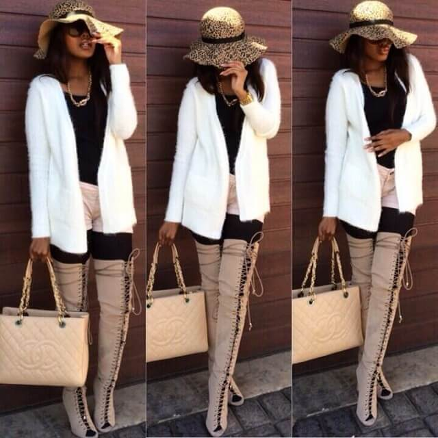 Winter Fashion High Knee Boots