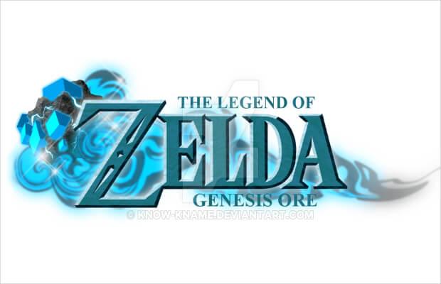 creative zelda logo