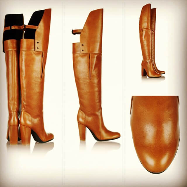 Official Wedge Knee High Boots
