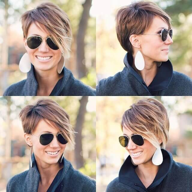 Fashion Look Short Pixie Haircut (1)