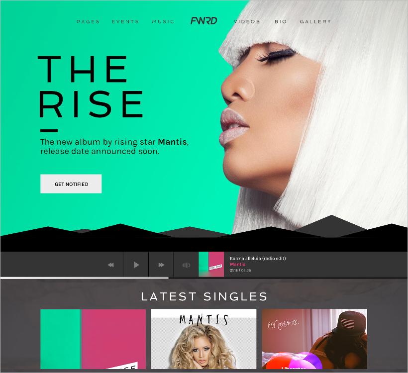 Music Band & Musician WordPress Theme