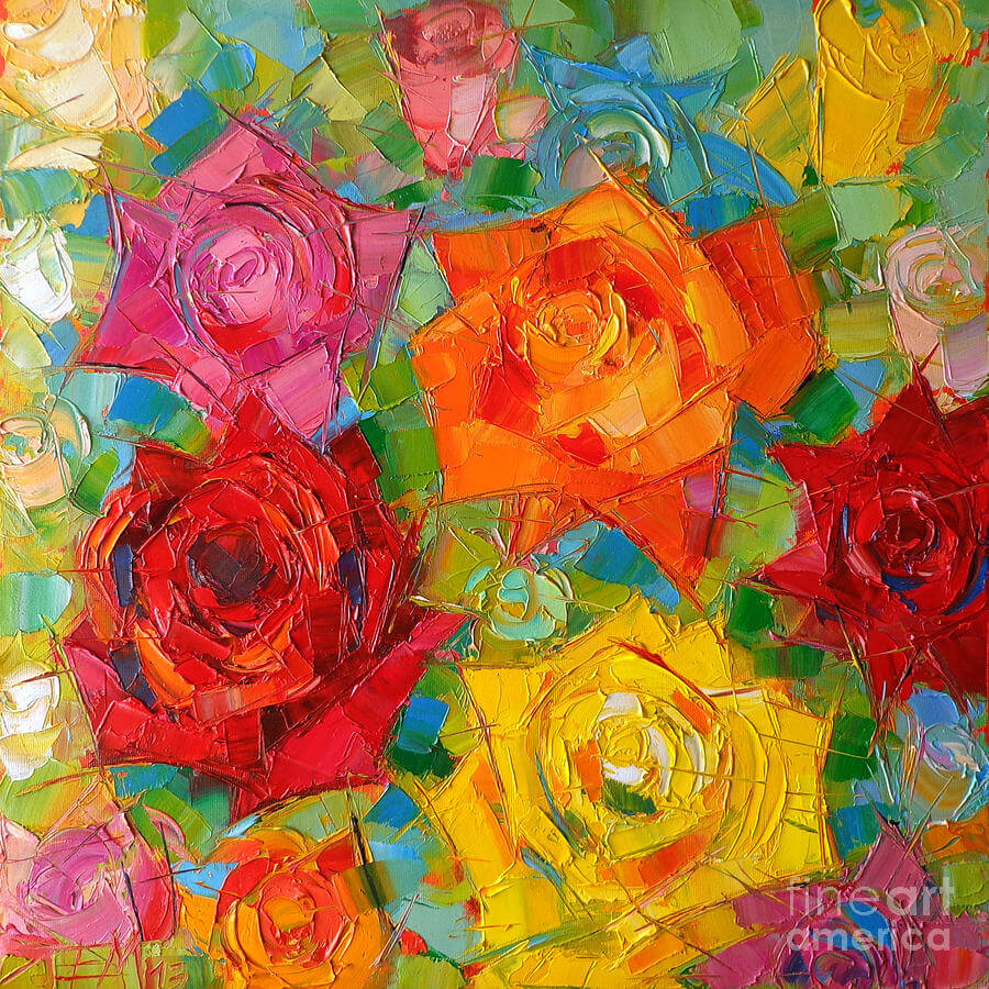 22 rose paintings art ideas pictures images design for Contemporary mural artists
