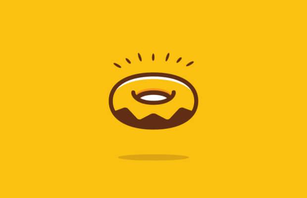 Sweet Donut Logo Design