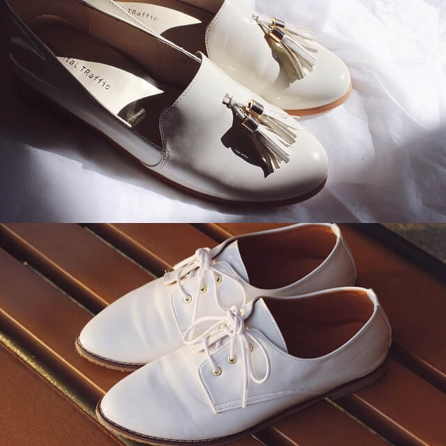 trendy white summer shoes sandals