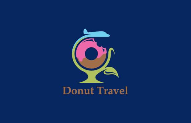 Stunning Donut Logo