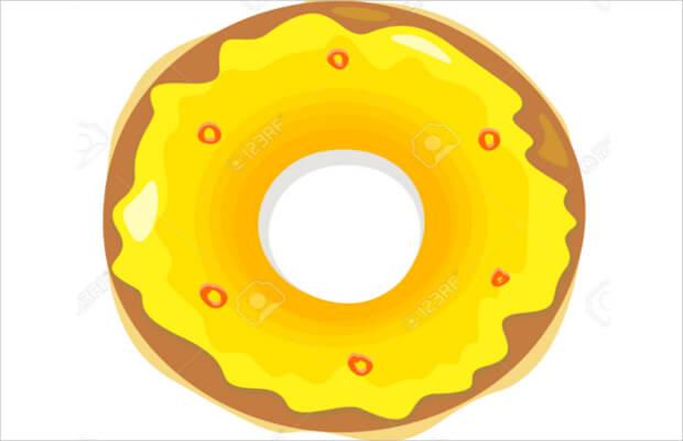 Cream Donut Logo