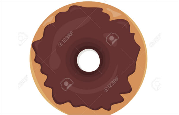 Choco Donut Logo