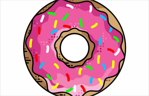 colorful donut symbol
