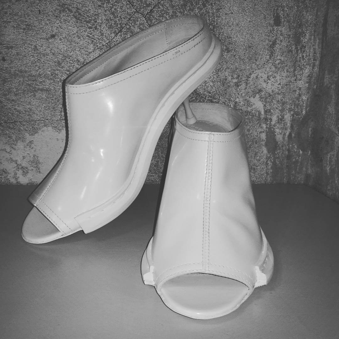 fashion stylish summer white shoes