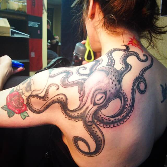 japanese octopus tattoo 1