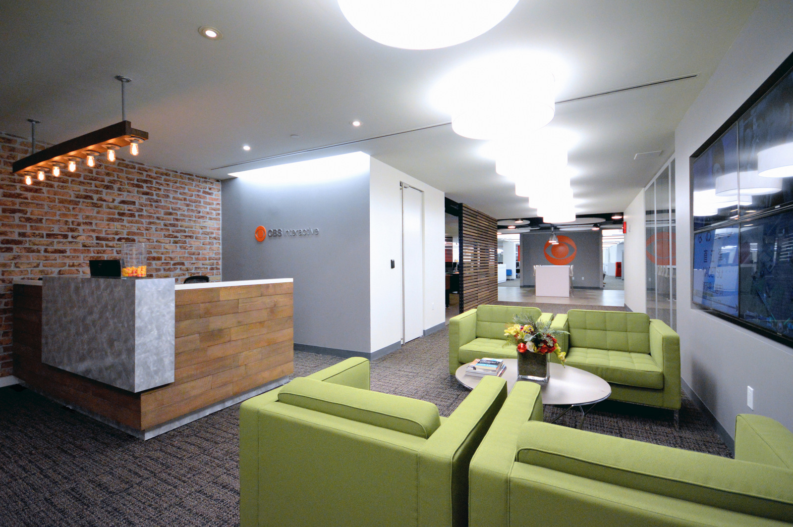 CBS Interactive Office Interior Design