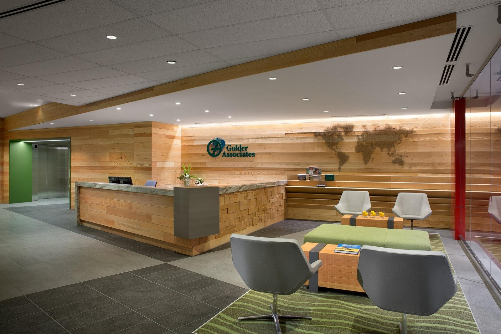 Golder Associates Office Design