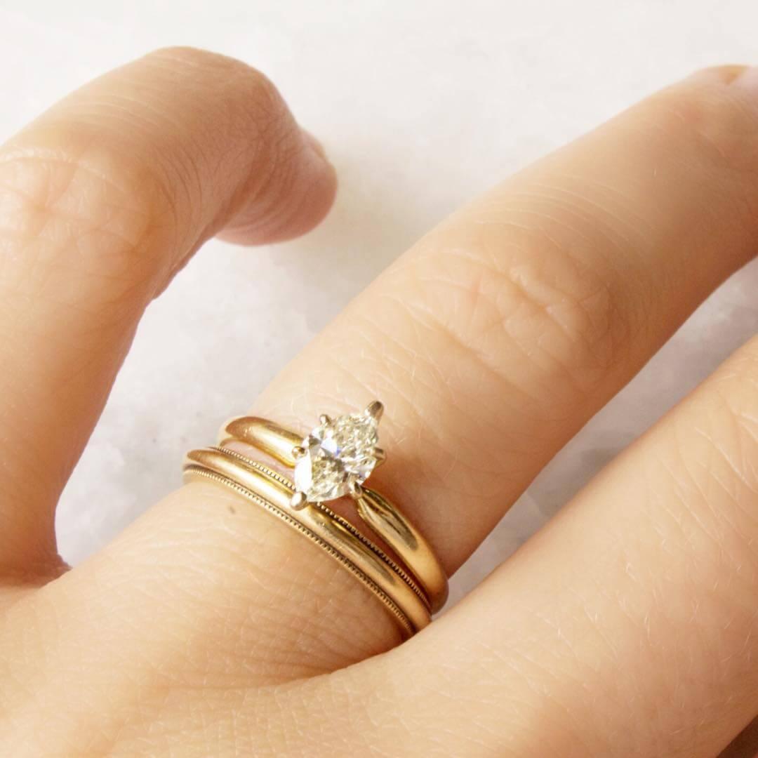 Gold Vintage Engagement Ring