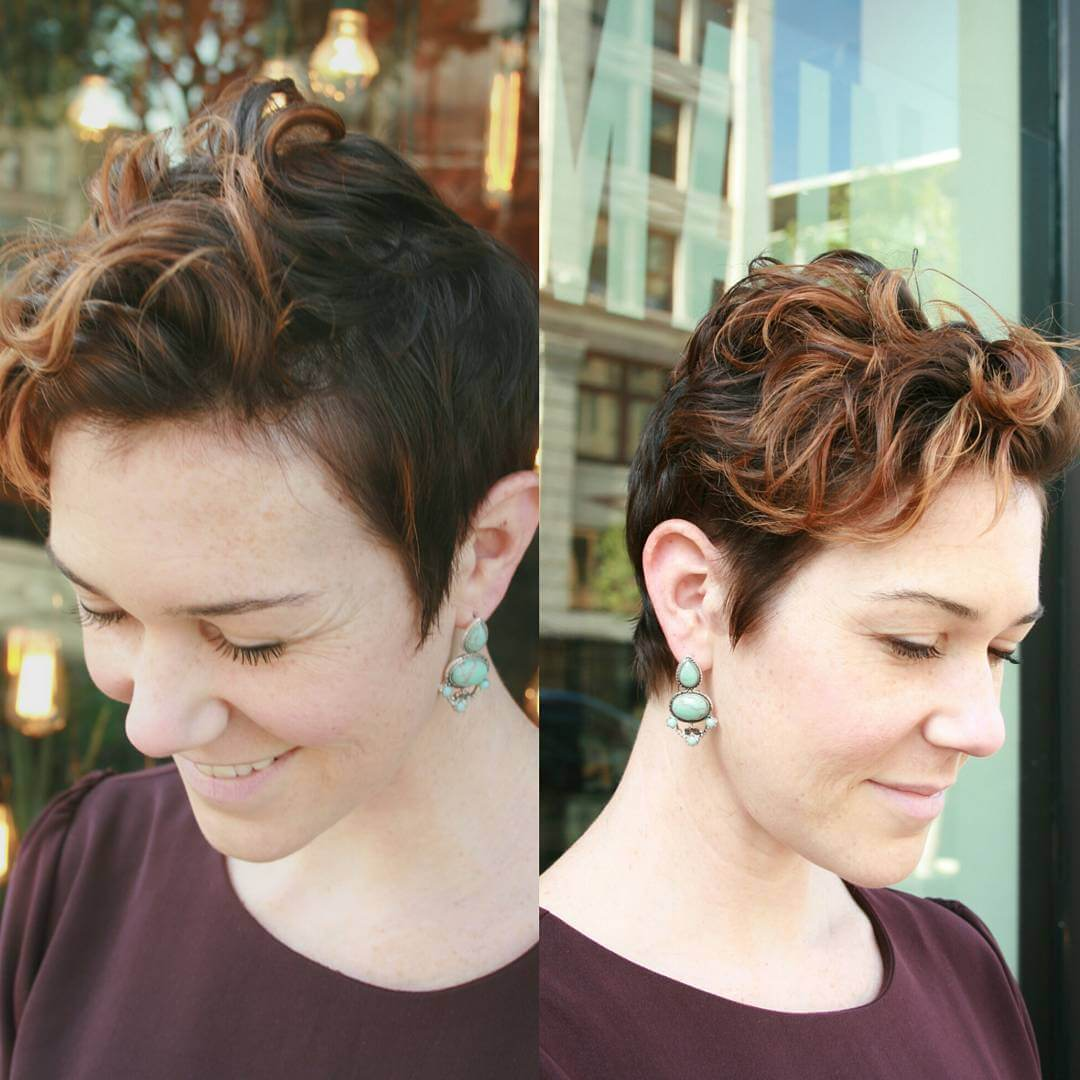 Medium Pixie Hairstyle (1)