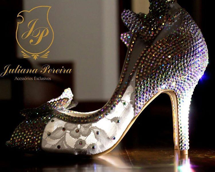 sparkly summer wedding shoes