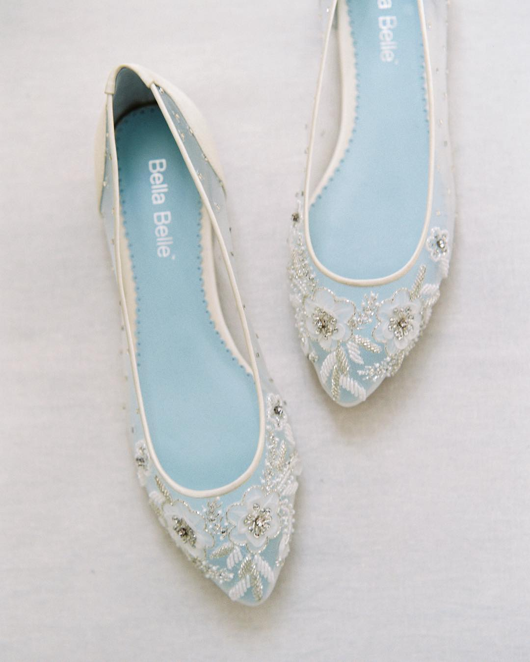 Fabulous Flat Wedding Shoes