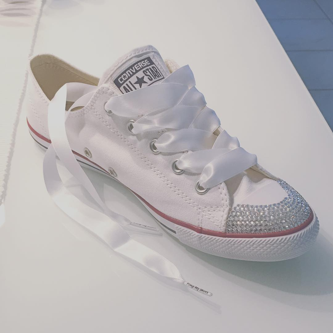 Converse Wedding Shoes for Bride