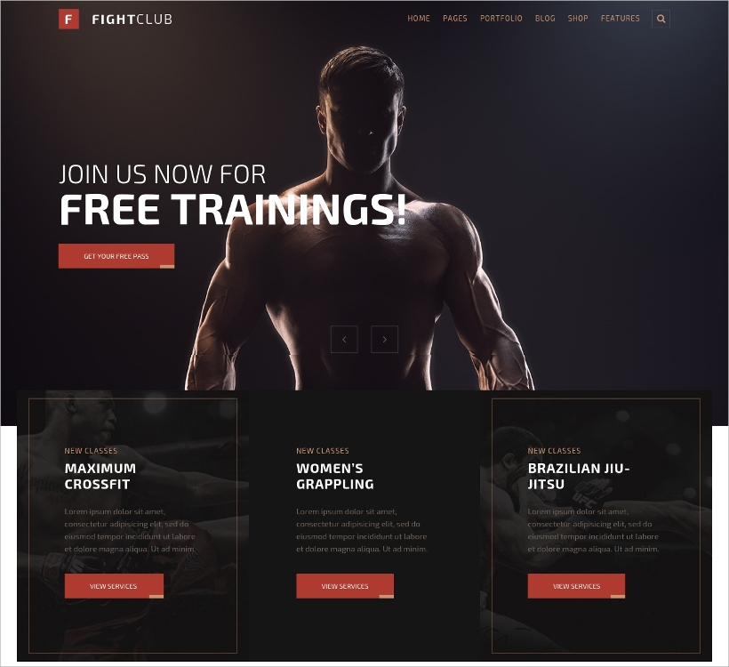 Fitness & Yoga WP Theme