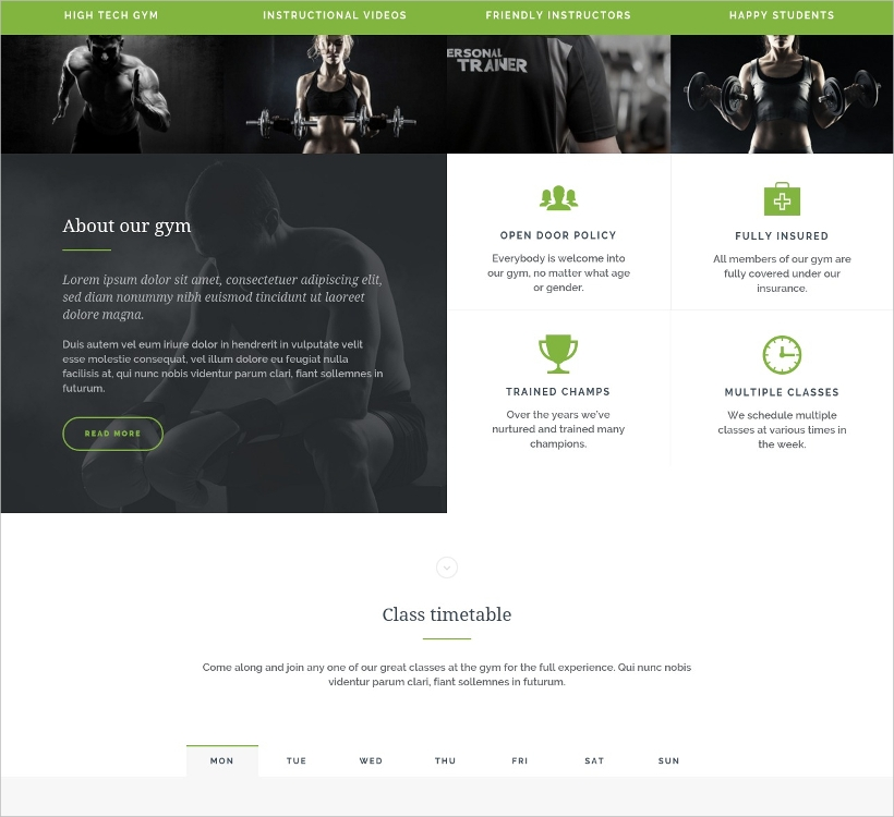 Four Column Responsive WordPress Theme