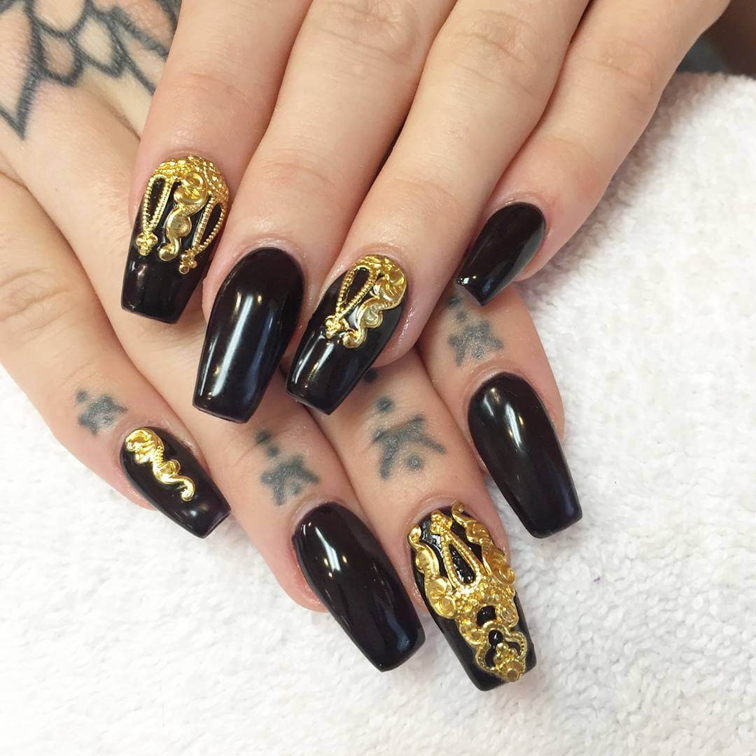Designed Nail for Holiday (1)