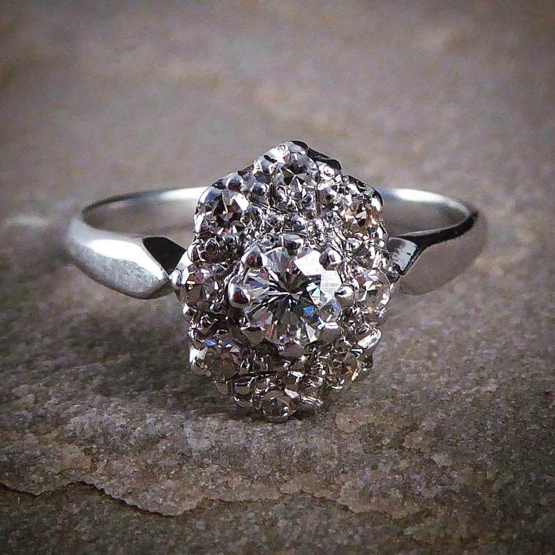 gorgeous vintage wedding ring