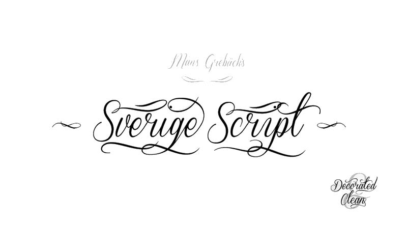 Elegant Calligraphy Font