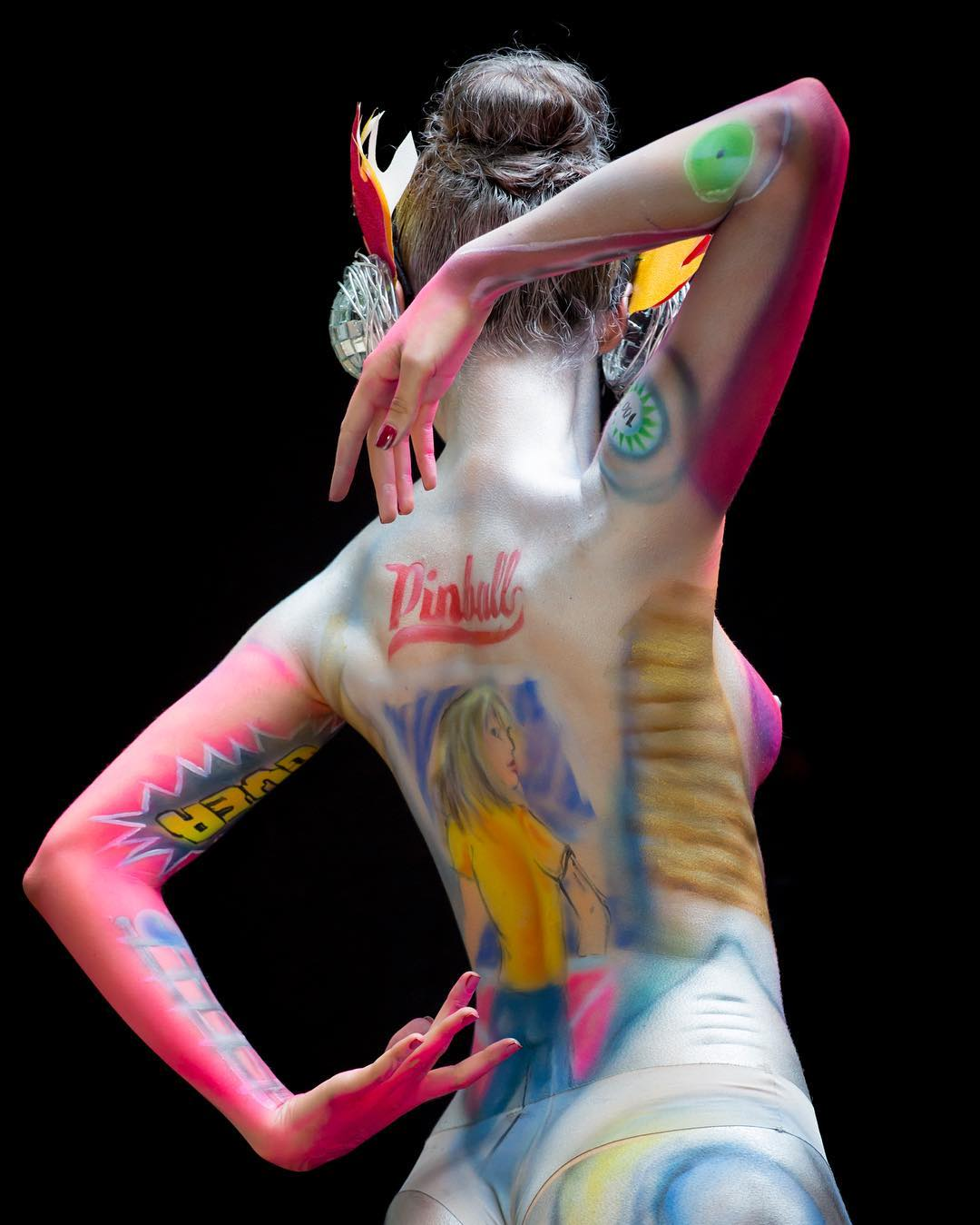 body painting for body festivals